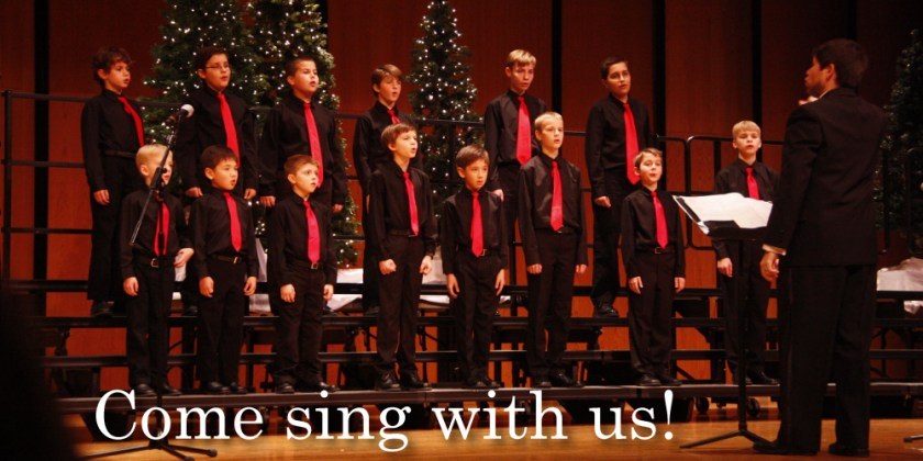 Lake County Boys Choir - Come sing with us!