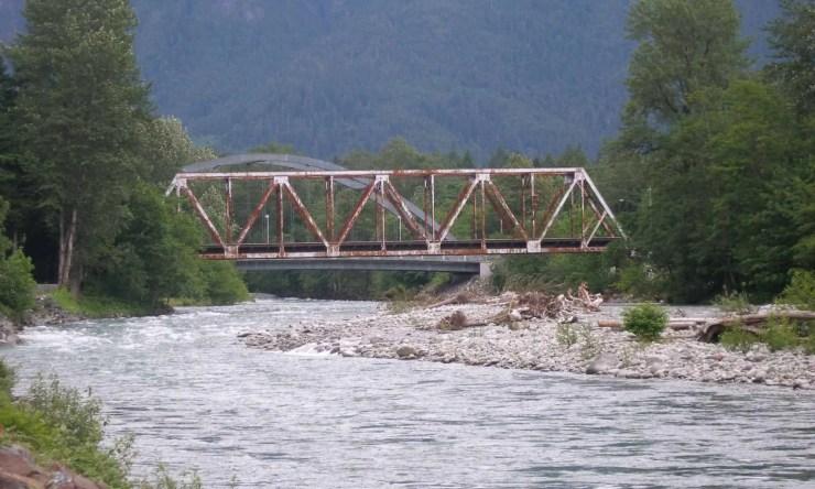 Bridges at Index, Washington.
