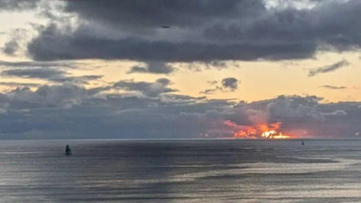 Sunset from Waikīkī.