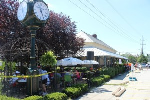 Hot Run in the Summertime at the Woodbury Station Cafe