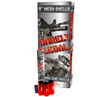 Barely Legal 5 inch Shells