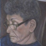 Blanche Ingram - Acrylic on Canvas 9x12 (2013)