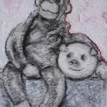 Transitional Object: Monkey & Pig