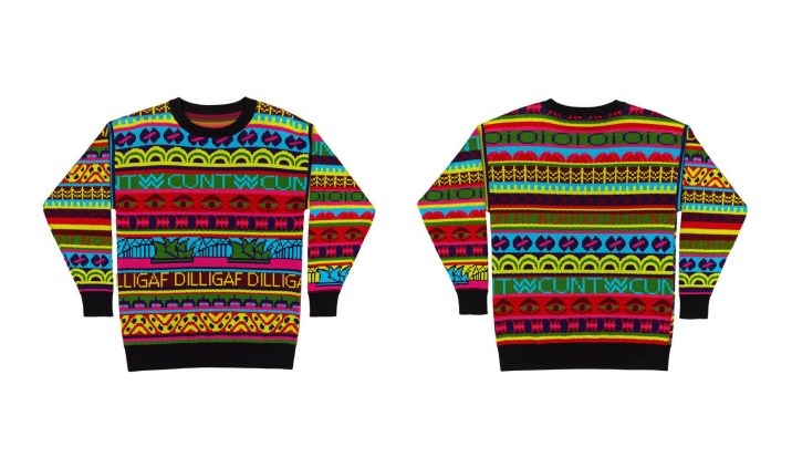 Ozi Sweater, 2015, after Jenny Kee, Australiana Series
