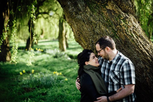 Engagement Shoot in Bournemouth as part of wedding photography package