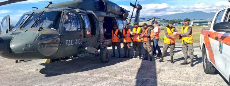 Fuerza Aérea EEUU capacita soldados guatemaltecos ayuda humanitaria