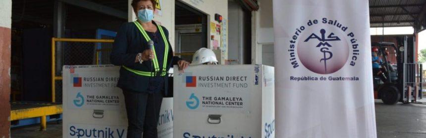 Guatemala recibe segundo lote de vacunas Sputnik V