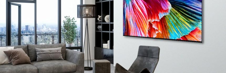 Ahora disponible en todo el mundo, LG QNED mini LED TV