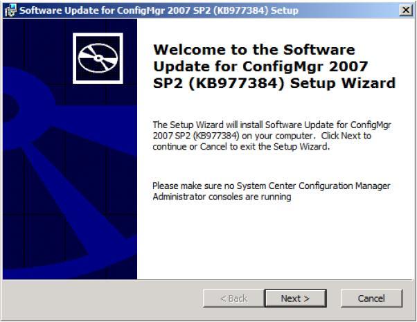 ConfigMgr R3 Installation & Configuration (2/6)