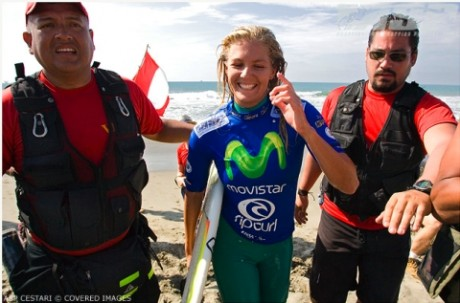 Stephanie Gilmore (AUS), 20, reigning ASP Women's World Champion, regained the ratings lead on the ASP Women's World Tour.