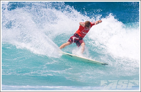 Taj Burrow (AUS), 30, current ASP World No. 3, will face Mikael Picon (FRA), 29, and one of the event wildcards in Round 1 of the Quiksilver Pro Gold Coast.