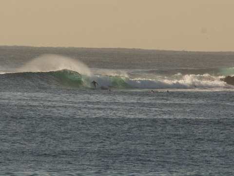 Looks like they had a few fun ones out there this morning.