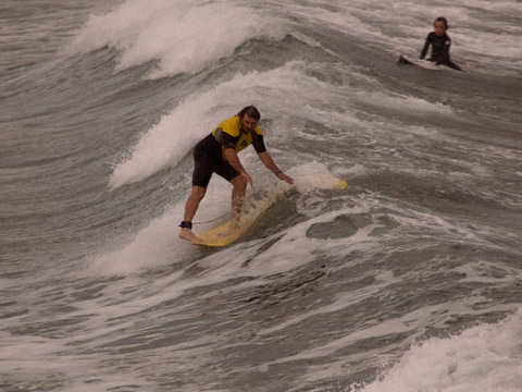 Cross-stepped up, then went for five as the shorey approached, Collaroy.