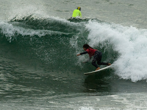 Nice rebound by a future NN boardriders champ from this morning at Northy.