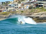 Bodyboarders probably best equipped for extracting fun from  the shutdowns
