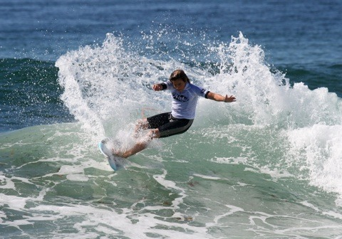 Zack Lukas (Cudmirrah, NSW) will be one to look out for in the field of the Under 15s division. photo: PA/Surfing NSW