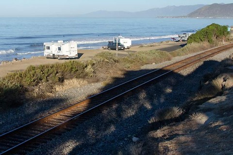 Reef and beachy set up just north of Ventura