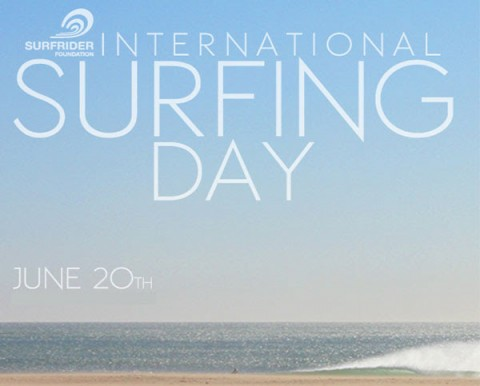 Celebrate International Surfing Day on Friday 20 June 2014