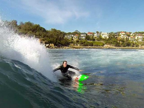 kneeboarding fairy bower manly