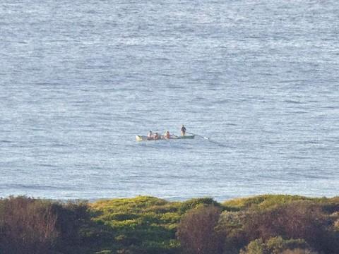 DY SLSC surf boat