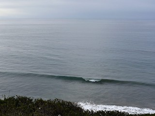 Mesa Lane showing a perfect little west line probably knee to waist high