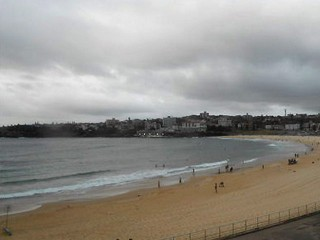 North Bondi micro under glowering skies