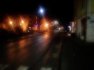 Севојно под ноћним светлима