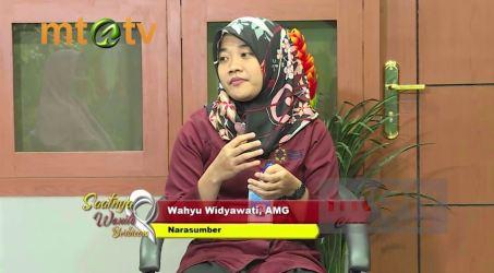 """Video Siaran MTA TV Wahyu Widyawati, AMG, Praktisi Gizi RS UNS Dengan Tema """"PUASA DITINJAU DARI ILMU GIZI"""""""