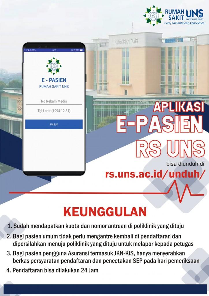 Pendaftaran Online RS UNS