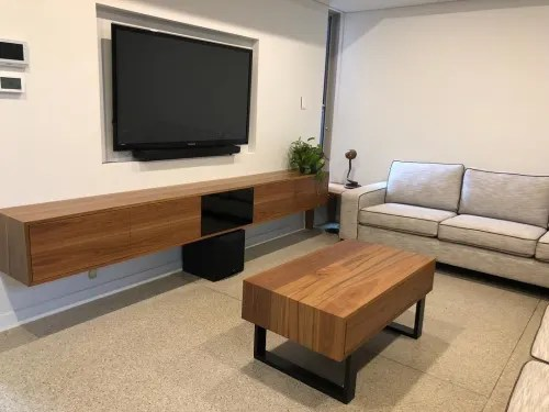 matching coffee table by bayres design