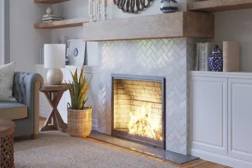 lexington white marble mosaic tile
