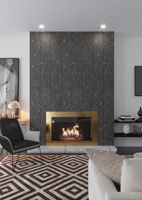 chic fireplace tile wescover