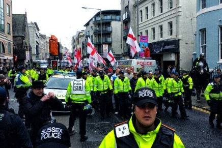 Brighton antifascist mobilisation: reports round-up