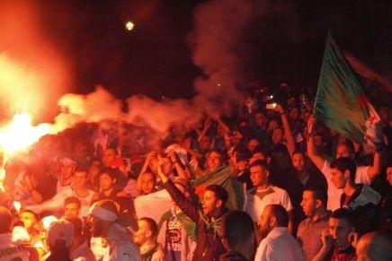 London: Thousands celebrate Algeria's World Cup success