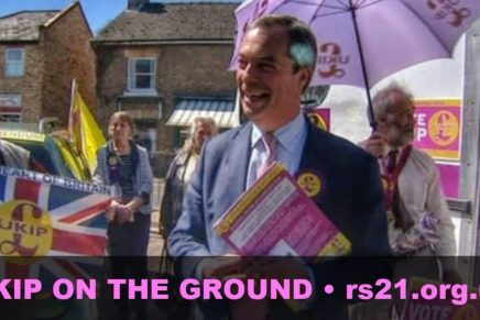 UKIPwatch: Farage cleans up in the Fens