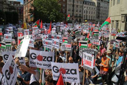 Solidarity movement continues to grow – #GazaA9 protest round up