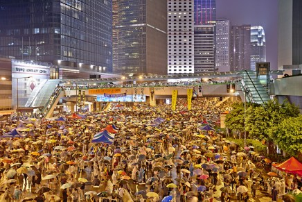 Hong Kong protests two weeks on