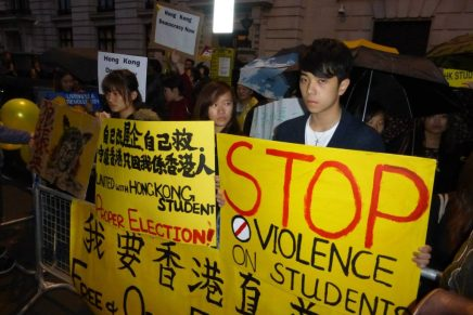 Thousands attend Hong Kong solidarity protest in London