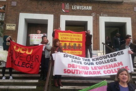 Lively LeSoCo lobby against FE cuts