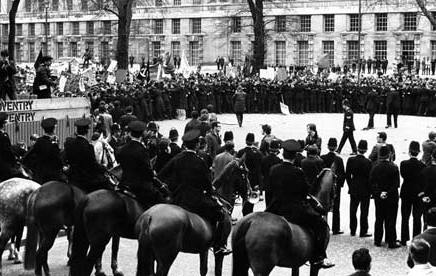 The battle of Grosvenor Square