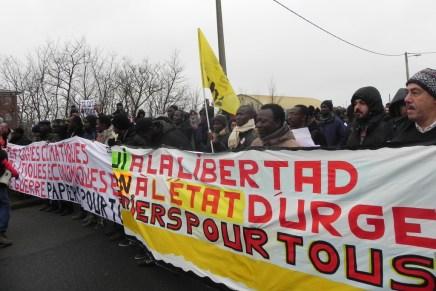 'No more Jungle, no more borders' – a report from Calais refugee protest