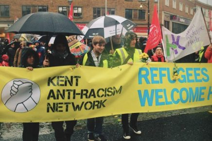 Dover calling: antifascists get ready to defend migrants from Nazi threat