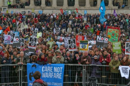 Voices against Trident – video from CND demonstration in London