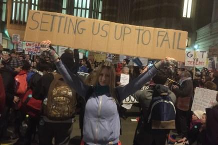 #JuniorDoctorsStrike heats up as protesters descend on Whitehall