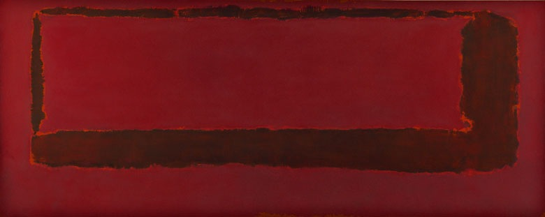 Mark Rothko's Red on Maroon Section 5, 1959