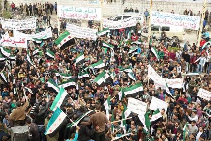 Syria: #TheRevolutionContinues