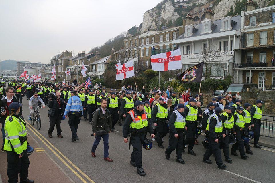 fascists plus police