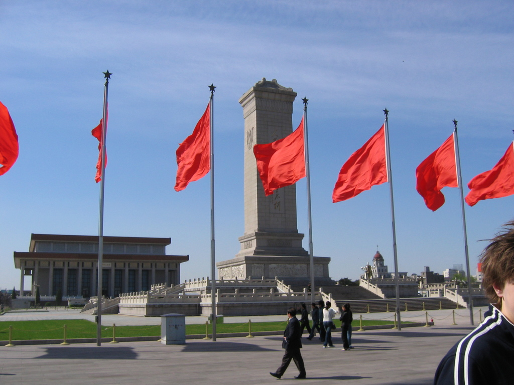 Monument to the People's Heros, Tianemen Square (Photo: Wikimedia commons)