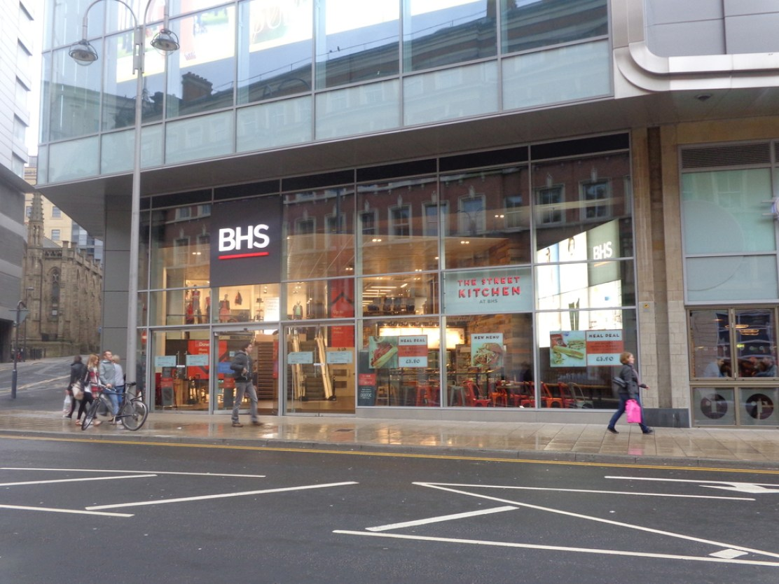 BHS,_Trinity_West_(entrance_from_Boar_Lane),_Leeds_(12th_April_2014)