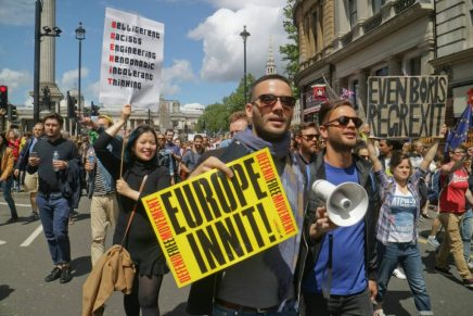 Reactions to Brexit: the March for Europe